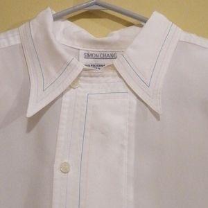 Vintage Simon Chang Long Sleeve Blouse, Size.. 6